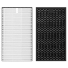 1017305 Filter Charcoal Air Filter with Activated Carbon Filtrete Replacement for sharp FZ-D50 Air Purifiers