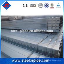As mais vendidas importações cs galvanizado tubo de aço
