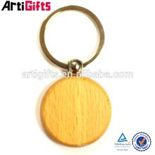 Porte-clés en bois pas cher cadeaux promotionnels