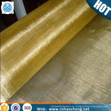 150 180 200 malla material de apantallamiento magnético tela de malla de alambre de latón