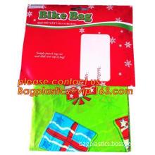 Giant Bike Gift Wrap Bag Christmas Bicycle Gift Wrap, BICYCLE BIKE / JUMBO GIFT BAG - 80 INCH LENGTH, Christmas Holiday Gift Bik
