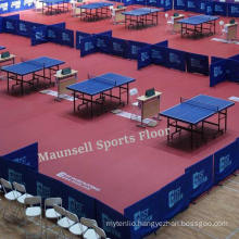 Plastic Table Tennis Flooring with Ifff/Bwf/CE Standard