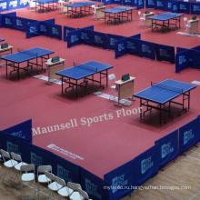Пластиковый стол для настольного тенниса с стандартом Ifff / Bwf / CE