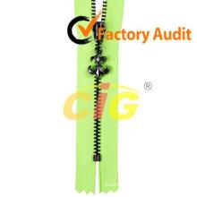 High Quality Gold brass zipper