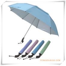 Paraguas promocional de la publicidad del paraguas
