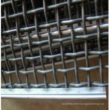 Acero de manganeso de alta resistencia de malla de alambre de malla vibrante pantalla trituradora malla