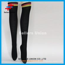 Hot sale ladies sexy hot fashion japanese stocking/long knee high stcocking