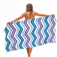 Quick Fast Dry Microfiber 100% Polyester Customized Printed Beach Towel Wholesale Suitable for Spring, Summer, Autumn, Winter