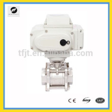"""AC2200V 2-way 4-20mA or 0-10V Stainless Steel 2"""" proportional motor Ball valve"""