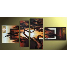 Group Modern Beautiful Landscape Oil Painting