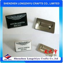 Insignia por encargo del logotipo del metal de la placa para los bolsos