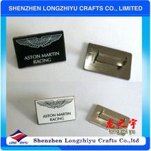 Custom Made Plate Metal Logo Badge for Handbags