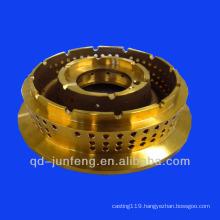 custom precision CNC turning brass burner