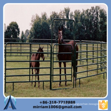 2015 высокое качество 1.6 * 2.1m Подержанные Corral Panels, Используемые панели для лошади, Оцинкованный металлический забор для скота