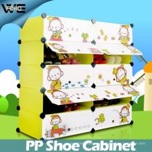 Muebles para niños Lovely Shoe Storage Box Estante para zapatos a prueba de agua