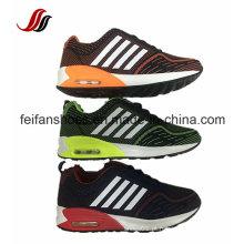 Sapatas Running superiores feitas malha linha do vôo, sapatas do esporte do coxim de ar, sapatas novas da sapatilha do projeto