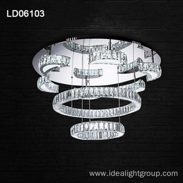 restaurant led chandelier crystal hanging chandelier