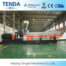 Machine élevée d'extrudeuse de la formulation 65mm de remplisseur