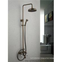 Double Handle Bathroom Bath Shower Faucet