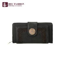 HEC Custom Style rétro femme sac à main en cuir PU Lady Portefeuilles
