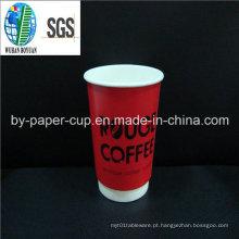 Preço EXW descartável para copos de papel de parede dupla