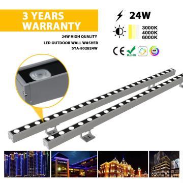 Lavadora de parede externa LED de alumínio