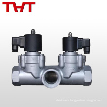 12 volt 3 way water irrigation solonoid valve with adapter