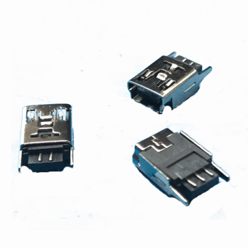 Mini USB 5P Receptacle Solder B Type