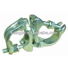 BS1139 / EN74 abrazadera giratoria galvanizada del andamio de la gota forjada