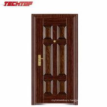 TPS-110 China Galvanized Steel Door Frame and Steel Entrance Door