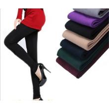 Ladies Girls Winter Seamless Fleece Leggings Tights