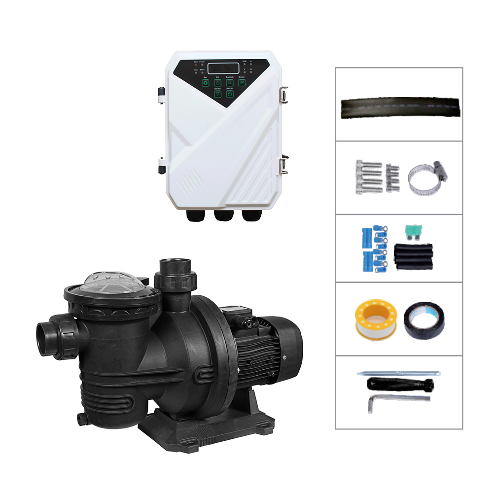 Pool Pumps Charge MPPT Solar Controller Solar Powered Swimming Pool Pumps