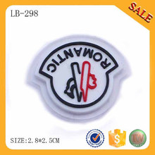 LB298 Logo personnalisé écologique patch pvc bagages