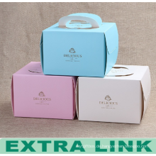 Logo Druck Großhandel Lebensmittelverpackungen Papier Kuchen Boxen