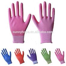 13 Gauge Garten Farbe Nylon Nitril Handschuh