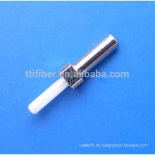 Cerraduras de Zirconia para conectores de fibra óptica MU / UPC Multimodo