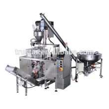 stand up pouch with cap filling machine