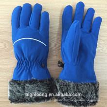 Дешевые удобные пользовательские перчатки лыжи