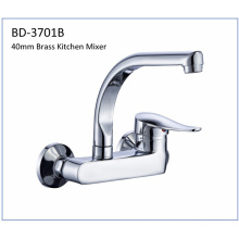 Bd3701b 40mm Brass Single Lever Kitchen Faucet