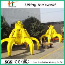 Máxima seguridad hidráulica chatarra Metal gancho agarrador