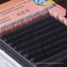 12 lines per tray 0.07 thickness machine-made different length koren synthetic individual eyelash extension