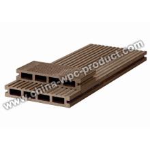 Decking compuesto plástico de madera