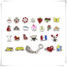 Wholesale Customize Fashionable Metal Glass Locket Charms