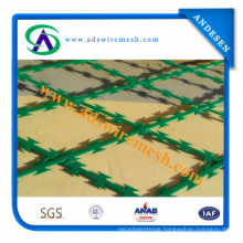 Low Price PVC Coated Concertina Razor Barbed Wire (ADS-RB-05)