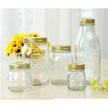 in Stock 150ml 300ml 500ml Food Storage Glass Mason Jar