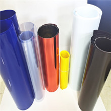 Filme plástico de PVC colorido