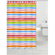 Printing design inexpensive shower curtains