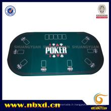 3 tablette de poker ovale pliante pour 9 personnes (SY-T10)