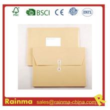 Documentos de arquivamento de pastas de papel para papel
