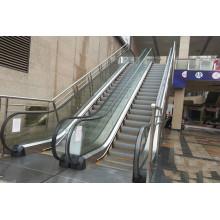 Escalera mecánica de pasajeros comerciales con 30 grados Huzhou China